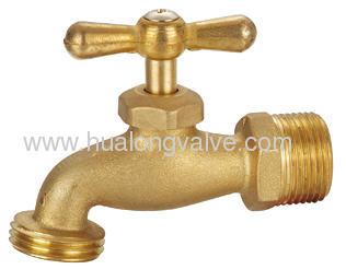 brass hose bibcocks