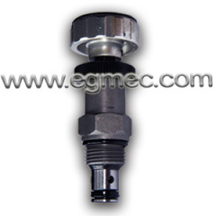 Cartridge Type Manually Operated Hydraulic Adjustment Flow Control Valve 3/4 -16UNF Threaded Connection