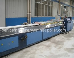 Profile extrusion lines