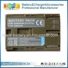 BP-511 BATTERY FOR CANON EOS 20D 30D 40D 50D 5D