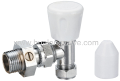 push-fit lockshield valve