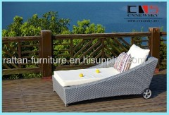 outdoor rattan furniture lounge chair