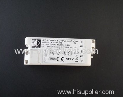 led power supply led transformer 9W