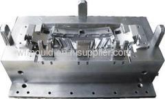 Plastic bumper mould