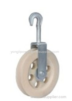 Clip -in pulley block