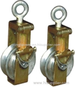 30 /50 /80KN single sheave sagging End pulley block