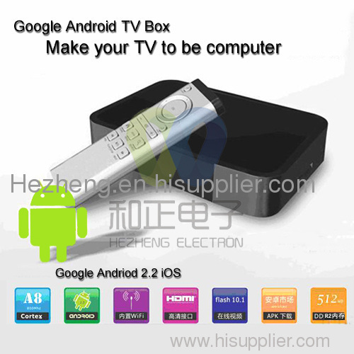 Built-in Wifi Google Android TV Box