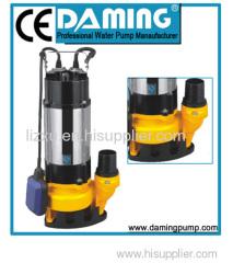 stainless sewage pump dirty water pump