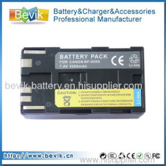 High Quality Digital Camcorder Battery For Canon BP-950 BP-950G