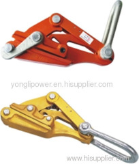 Aluminum alloy conductor grip come along clamps