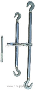 Steel double -hook turnbuckle