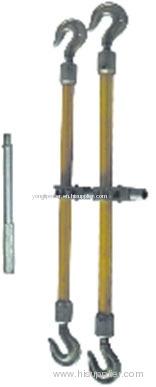 10~50KN aluminum alloy double-hook turnbuckle