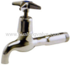 Bib Tap Chrome Long