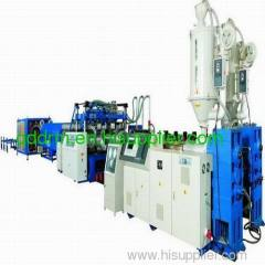 HDPE double wall corrugated pipe production machine