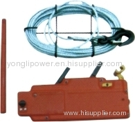 Tirfor steel rope hand operated lever hoist Wirerope hand wrenching chain hoist