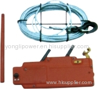 Wirerope hand wrenching chain hoist lever hoist
