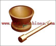 Measurement paste fluidity test mould