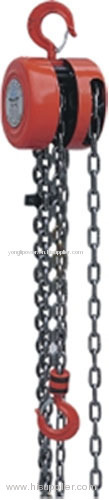 5~200KN Manual hand chain hoist block pull tackle block chain hoist