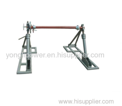3000-7000kg Integrated reel stand drum jack with disc tension brake