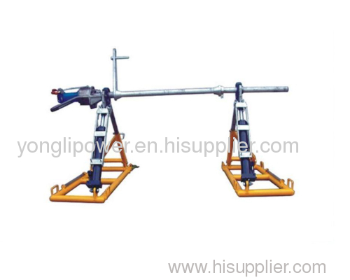 45rpm maximum rotate speed conductor reel stands