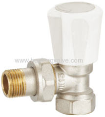Brass Angle Radiator Valves