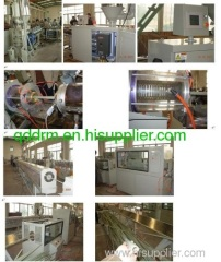 PPR pipe extruding in plastic