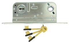 steel door lock body