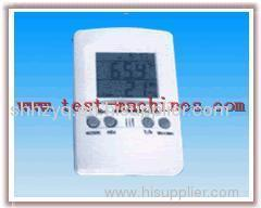 Calculate Time temperature and humidity table
