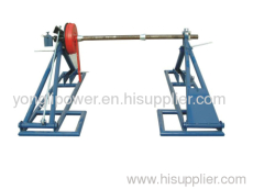 3000-7000kg Drum type integrated conductor stand drum jack