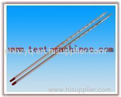 Red liquid thermometer