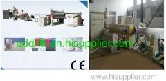 PE foam sheet extrusion line in machinery