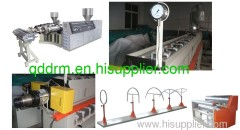plastic sheet extrusion line in machinery
