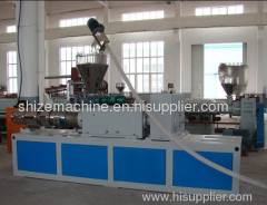 China double screw extruder