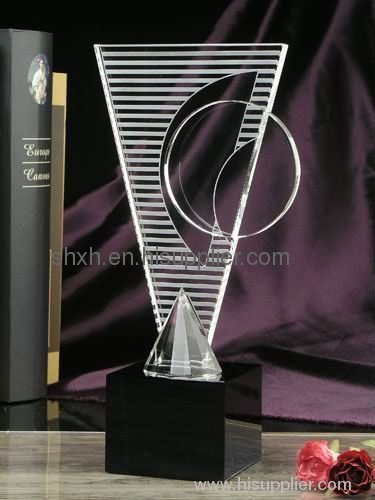 Clear Acrylic Trophy Shxh 035 Manufacturer From China Shanghai