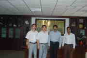 Bangladesh customers visit our company