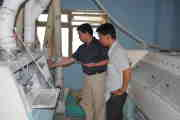 CEO were doing technical guidance in Vietnam