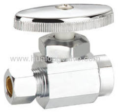 UPC approved straight angle valve