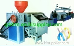 PP strap band extrusion machine/PP strap band production