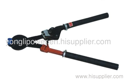 Chain type wire clipper cutter for conductor/ACSR below LGJ400