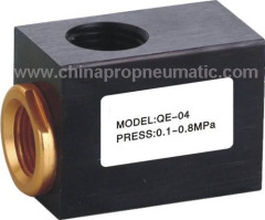 QE-04 Pneumatic Quick Exhaust Valve