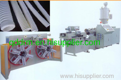 PVC single corrugated pipe /PVC pipe production line