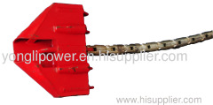 130~320KN running board for four bundle conductors