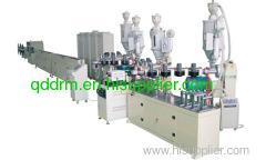 PEX-AL-PEX composite pipe extrusion line/pipe making line
