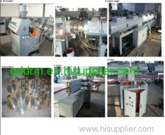 plastic composite pipe production line in machinery