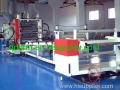 PET sheet production line/plastic sheet extruding machine