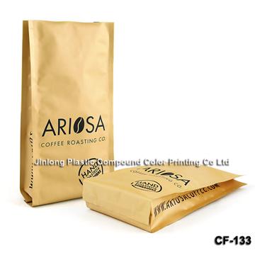 matt coffee packaging bag