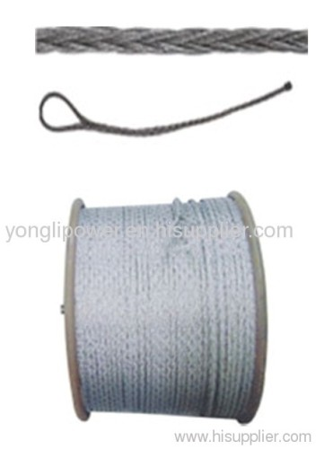Anti -twisting braided steel rope