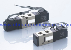 Two-Position Five Way Pneumatic Solenoid Valve