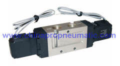 Double coil Pneumatic solenoid Valve