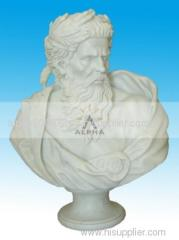 Natural home&garden marble bust for sale